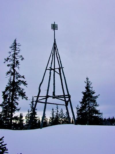 På den ensomme Storhaugen en vinterettermiddag, Foto: MORTEN MØST
