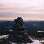Til Fjellsjøkampen på Hurdals tak
