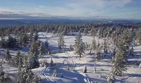 FJELL FEEL. Utsikten fra Hovlandsvarden er bent frem imponerende. Foto: STEIN BOTILSRUD