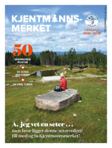 HEFTIG HEFTE med post 2 på forsiden - herlig åpen setervoll på Bjørnåsen i Hurum.