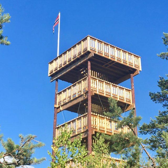 Tårn-fryd over Sørmarka