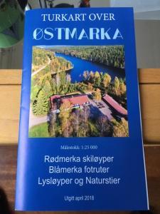 Kart over Ostmarka